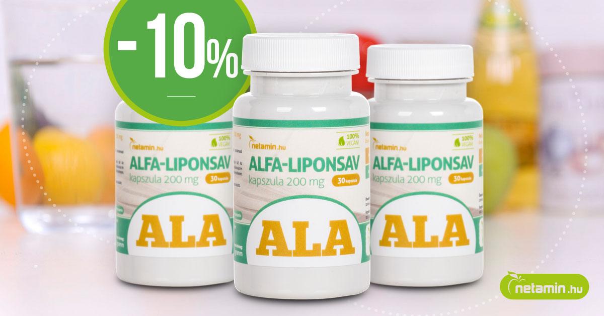 Javítja az inzulinérzékenységet és küzd a cukorbetegség ellen: alfa-liponsav   Gyógyszer Nélkül