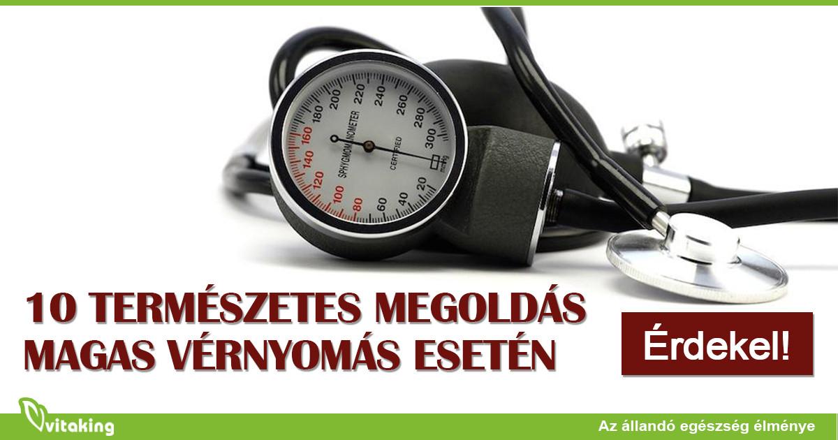 milyen vitaminokat szedjen magas vérnyomás esetén