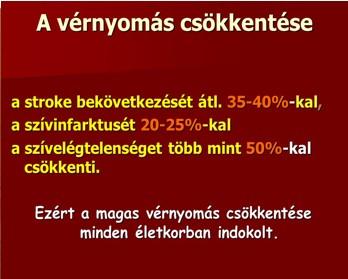 a magas vérnyomás rosszindulatú folyamata)