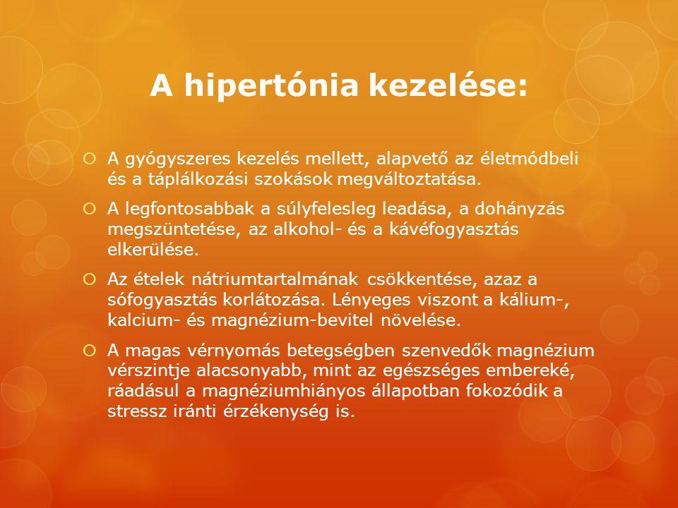 A hipertónia kialakulásának okai