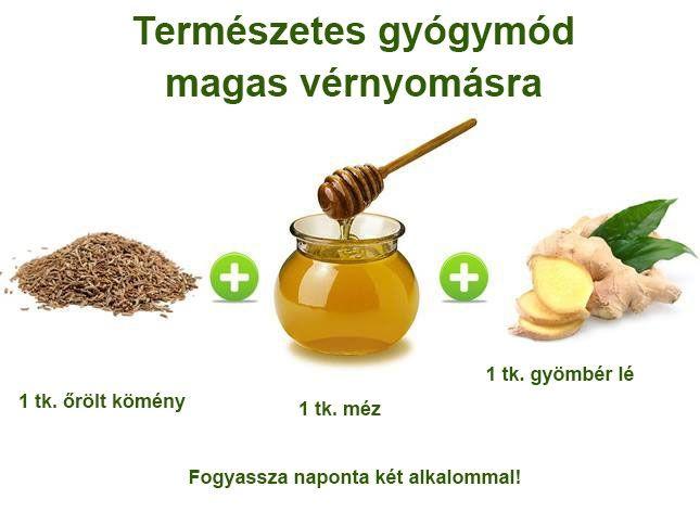köményes magas vérnyomás kezelés)