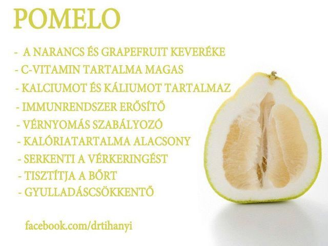 pomelo és magas vérnyomás)