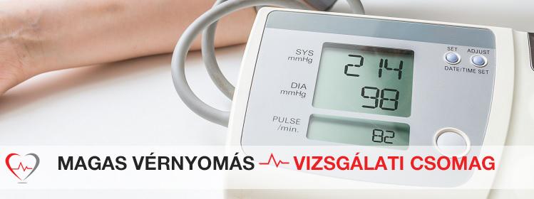 magas vérnyomás következtetés árfolyama