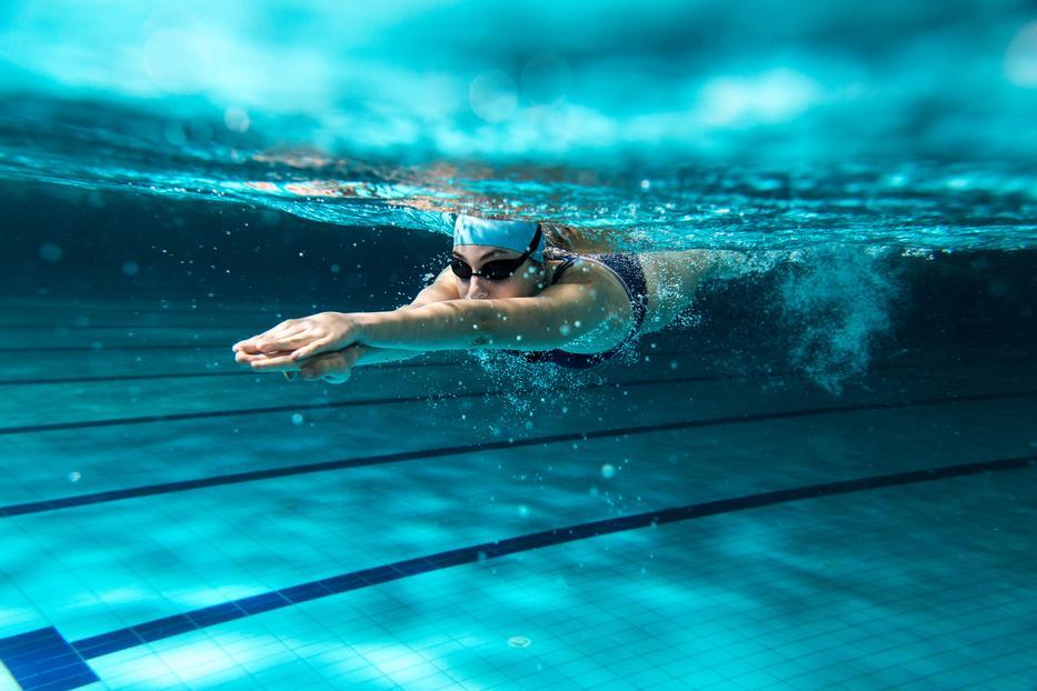 magas vérnyomás és úszás