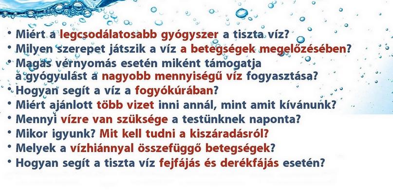 Mennyi vizet kell inni magas vérnyomás esetén