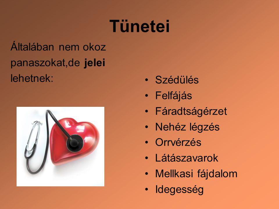 magas vérnyomás következményei és kezelése)