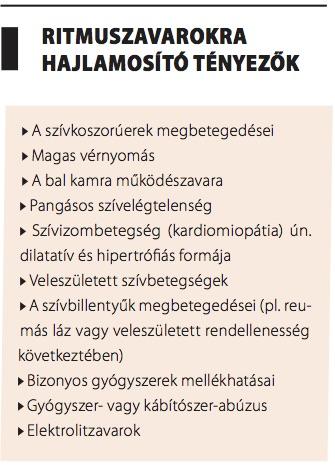 aritmia magas vérnyomás kezeléssel)