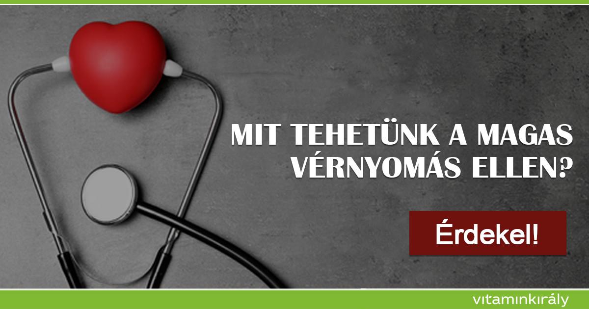magas vérnyomás esetén megengedett termékek