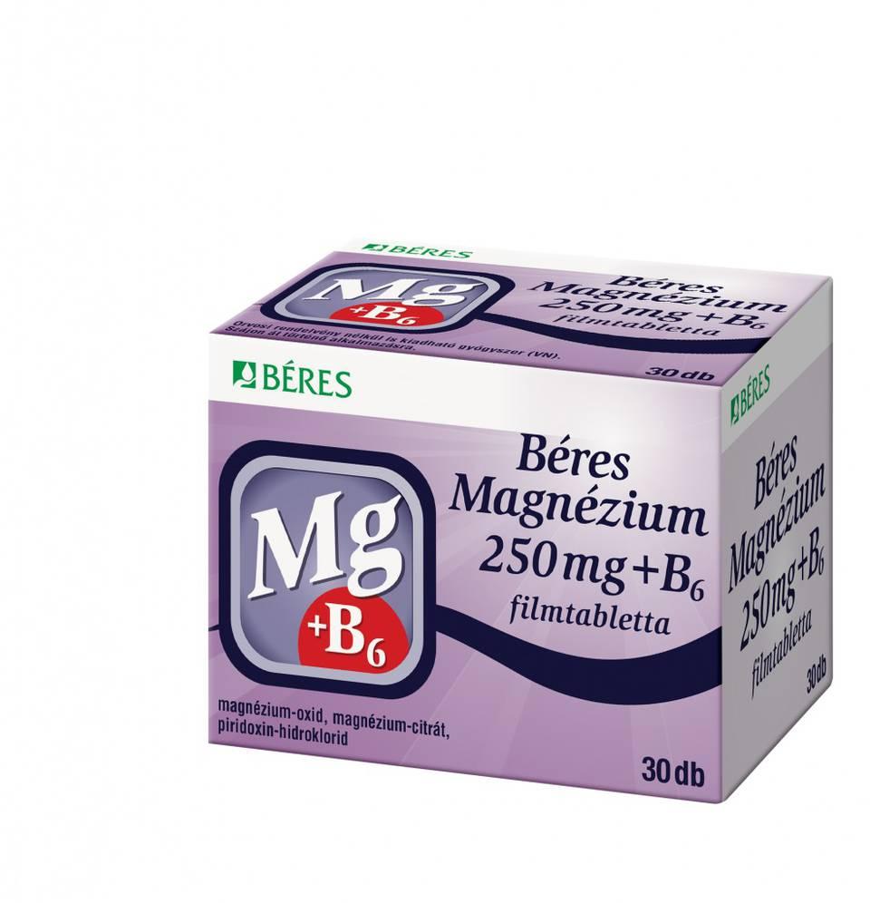magas vérnyomás kezelése magnézium b6