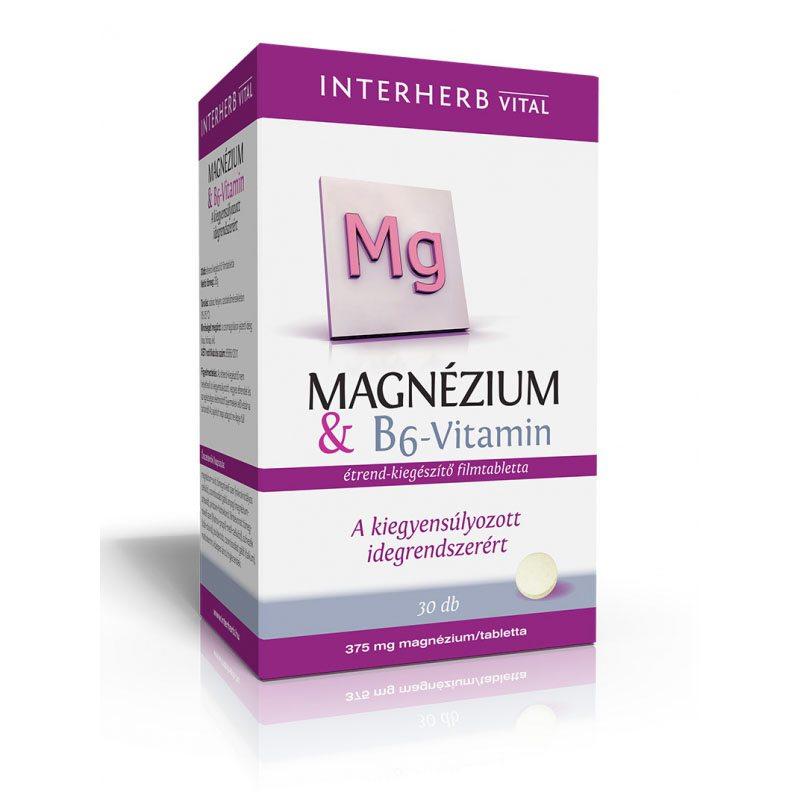 magnézium b6-vitaminnal magas vérnyomás esetén kapcsolódó klinikai állapotok magas vérnyomásban