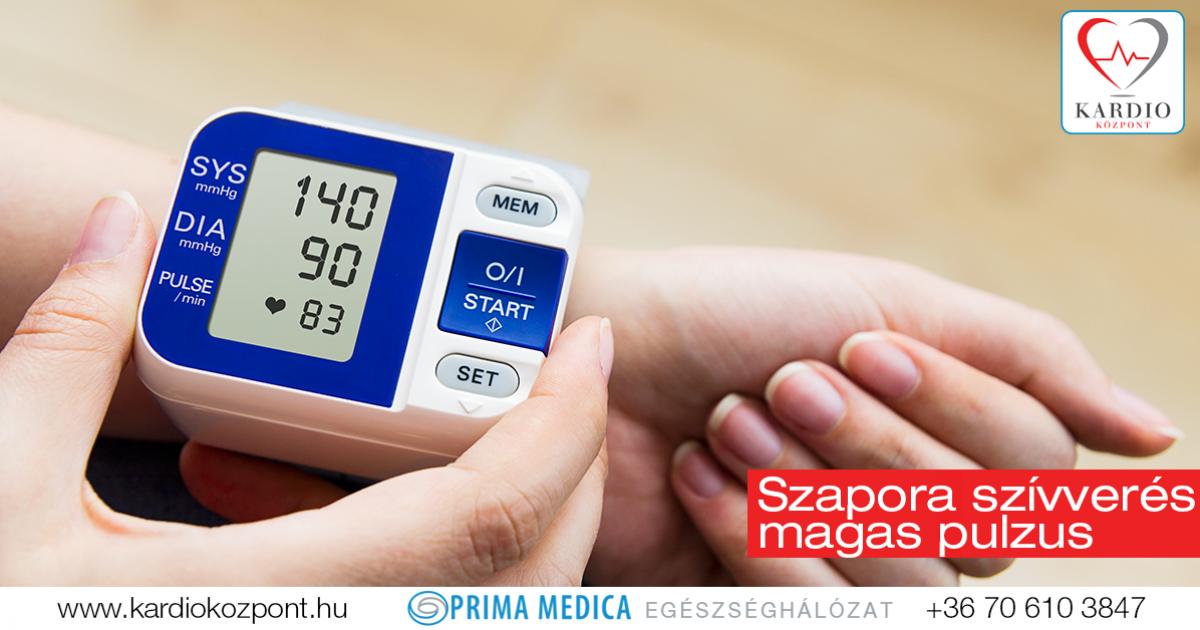 gyenge pulzus magas vérnyomással