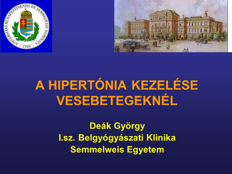 vese hipertónia gyógyszeres kezelése)