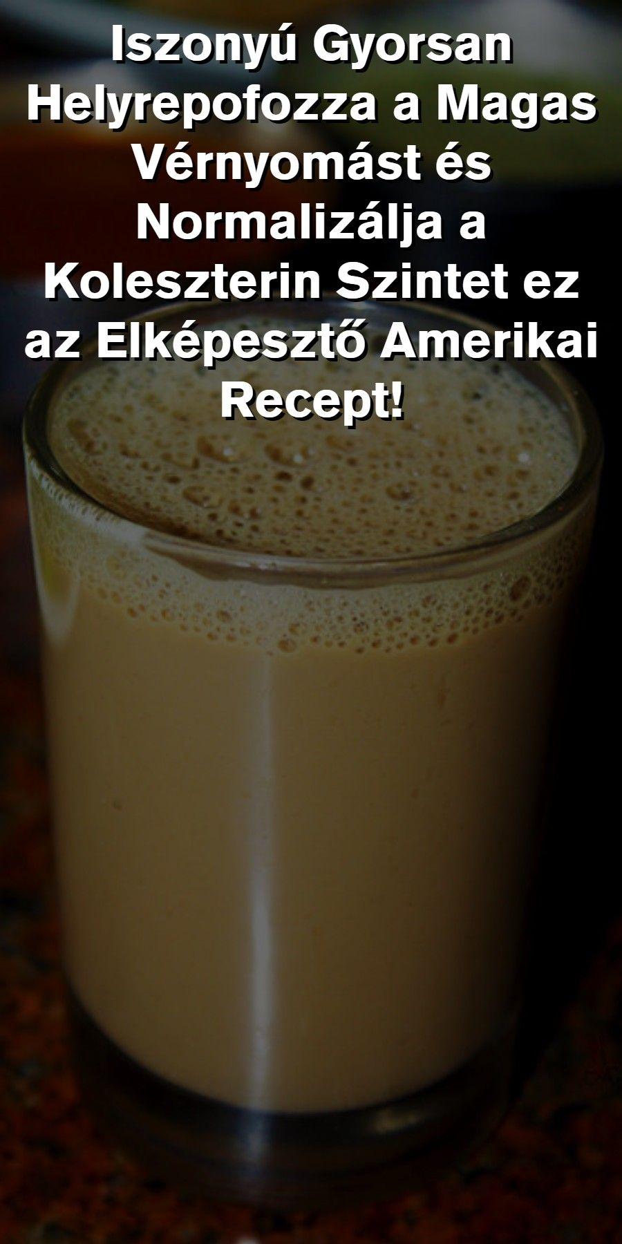 népi recept a magas vérnyomás ellen)