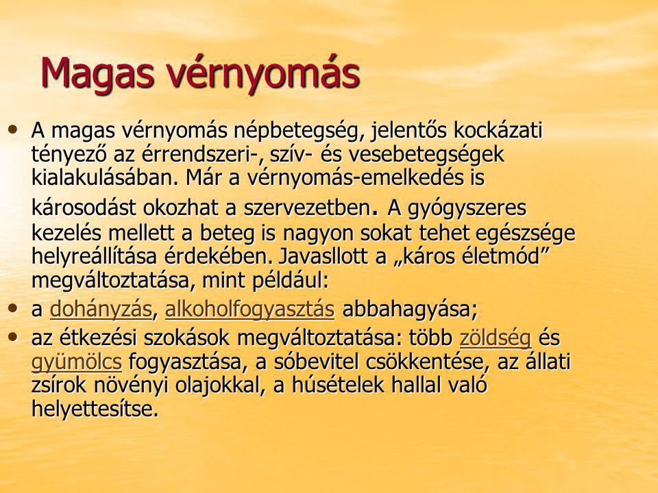 magas vérnyomás betegség kockázati tényezői)