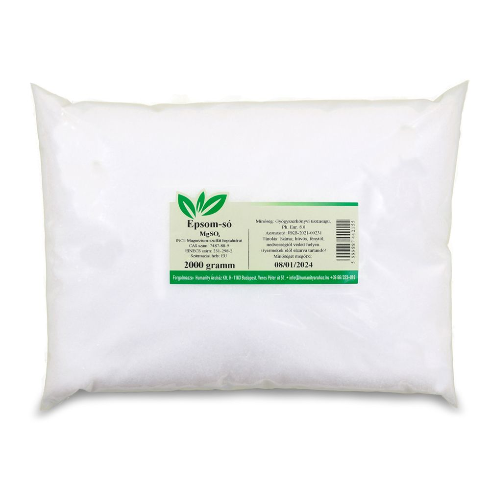 Epsom só magas vérnyomás ellen