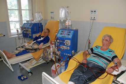 magas vérnyomás és dialízis