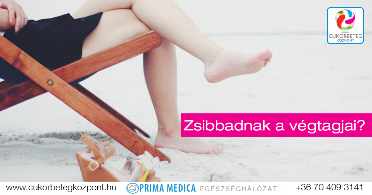 a lábak végtagjainak zsibbadása magas vérnyomás esetén