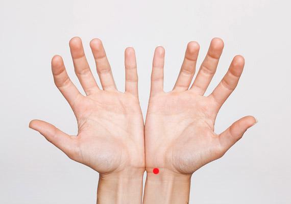 pontok az emberi testen a magas vérnyomástól)