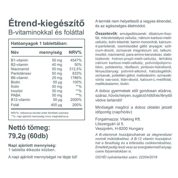 magas vérnyomás vitamin komplexek