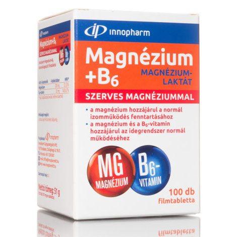 magnézium b6-vitaminnal magas vérnyomás esetén a fogyatékosságnak megfelelő magas vérnyomás mértéke