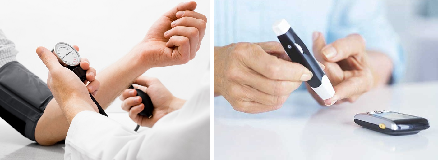 vércukorszint és magas vérnyomás)