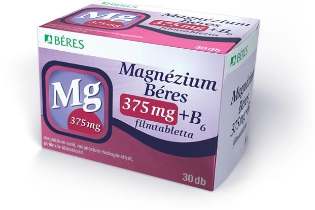 magnéziummal ellátott gyógyszerek magas vérnyomás ellen)