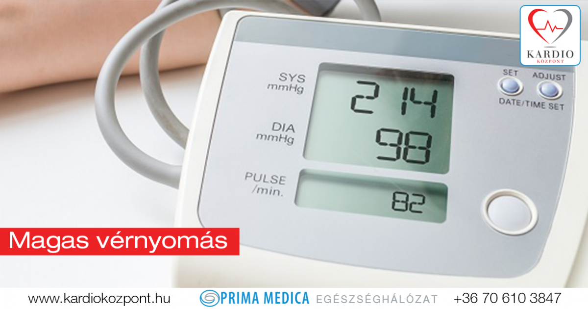fokú magas vérnyomás és a magas vérnyomás kezelése