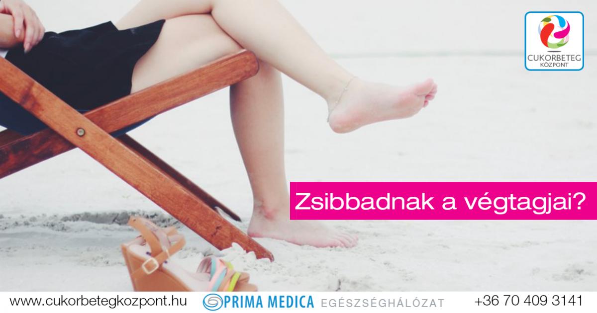 a lábak végtagjainak zsibbadása magas vérnyomás esetén)