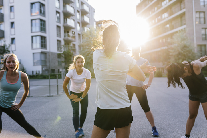 Edzés segíthet a stressz és a magas vérnyomás csökkentésében