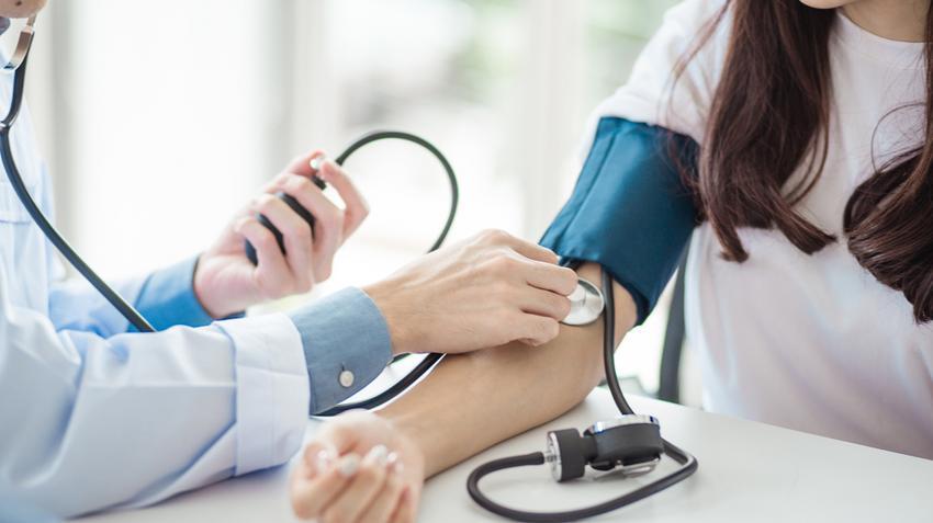 magas vérnyomás technika