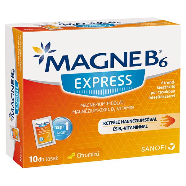 magnézium b6-vitaminnal magas vérnyomás esetén