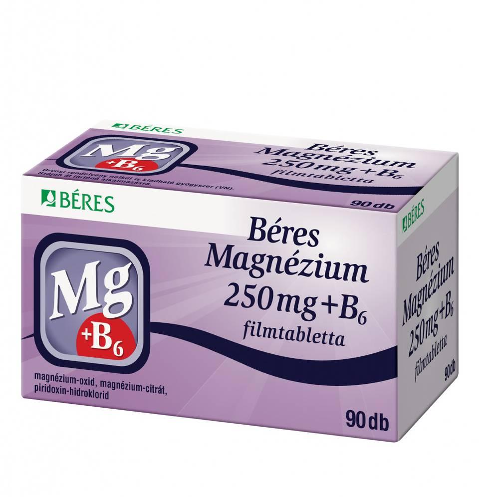magnéziummal ellátott gyógyszerek magas vérnyomás ellen