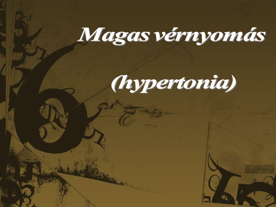 hipertónia plakátok megelőzése)