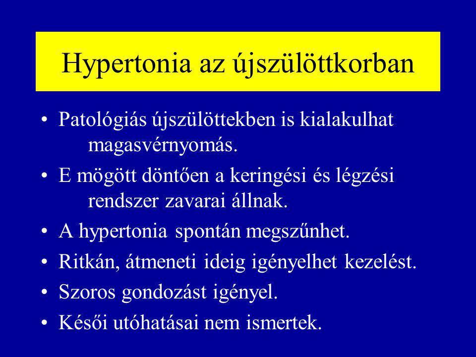 átmeneti hipertónia az)