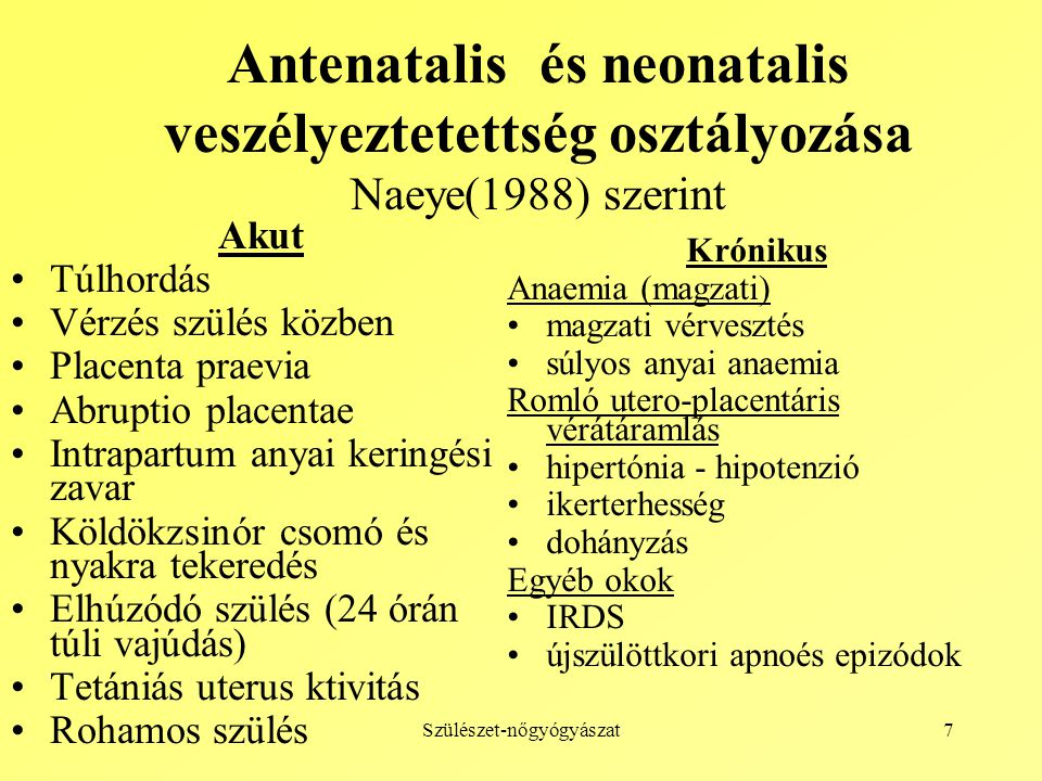 hipertónia hipotenzió)