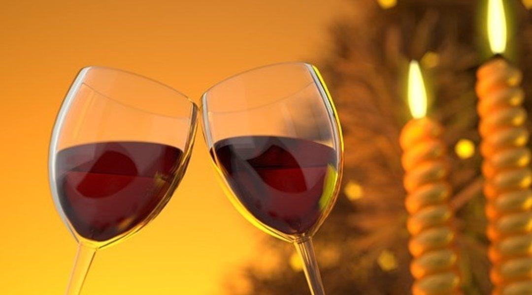 egy pohár bor és magas vérnyomás