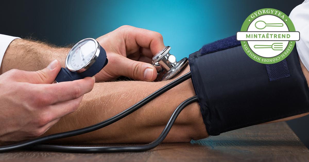 kálium magas vérnyomás esetén