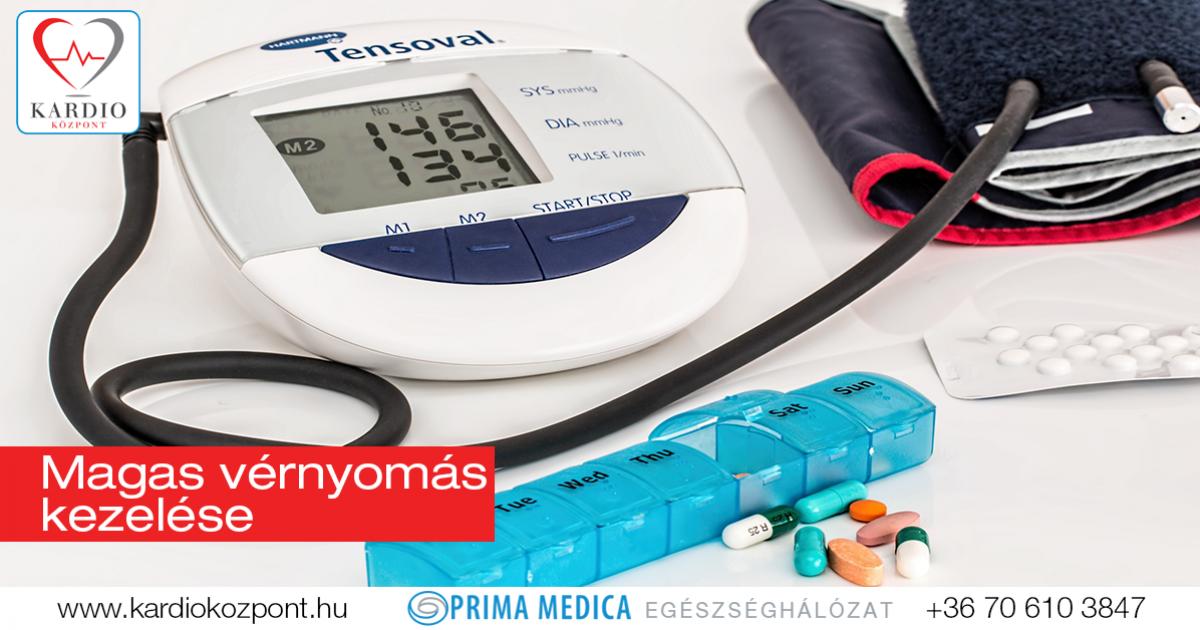 gyógyszereket alkalmaznak a magas vérnyomás kezelésére)