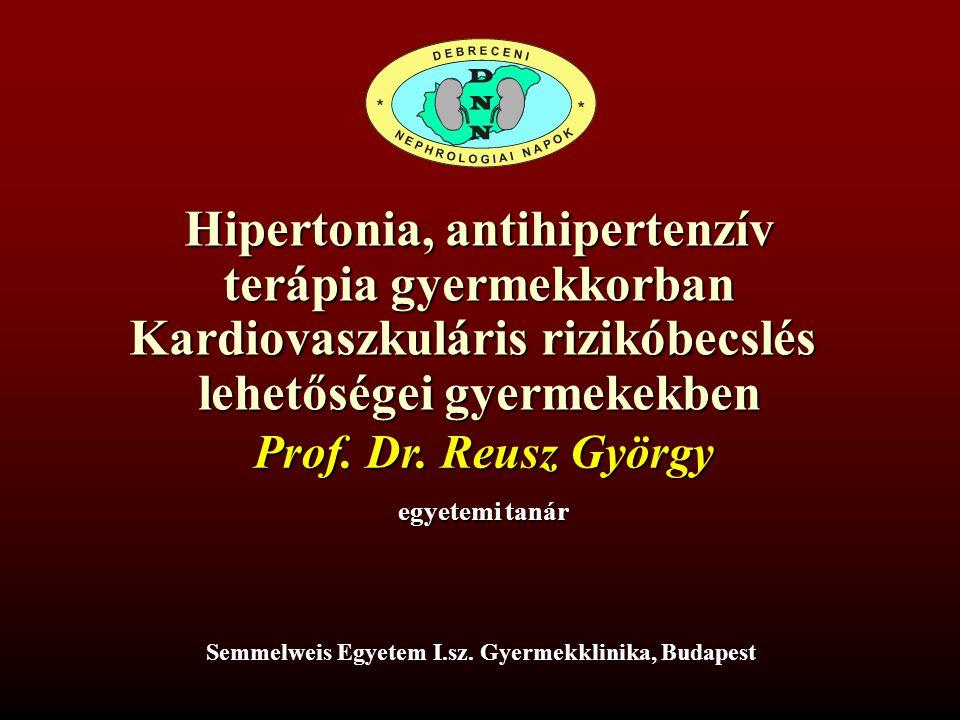 hipertónia kezelése gyermekeknél ajánlások gyomorhurut és magas vérnyomás