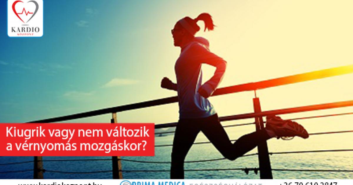 A legjobb sportok magas vérnyomás esetén